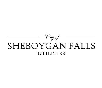 city of sheboygan falls/utilities logo