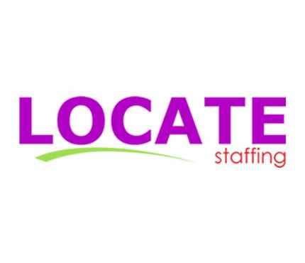 locate staffing logo
