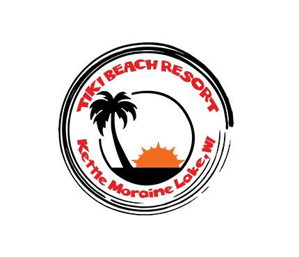 tiki beach resort logo